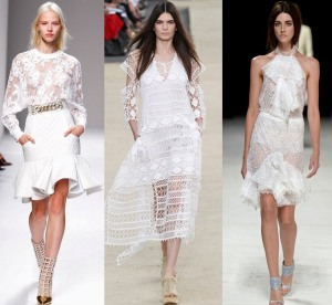 All White - Balmain, Chloe, Nina Ricci