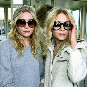 Olsen Twins in Round Shades